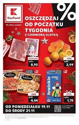 Kaufland gazetka - od 19/11/2018 do 21/11/2018