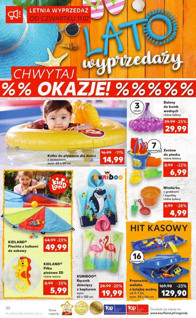 Gazetka promocyjna Kaufland do 17/07/2019 str.31