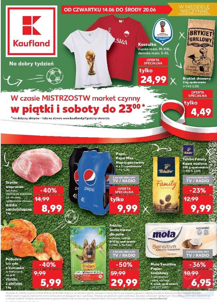 Gazetka promocyjna Kaufland do 20/06/2018 str.0