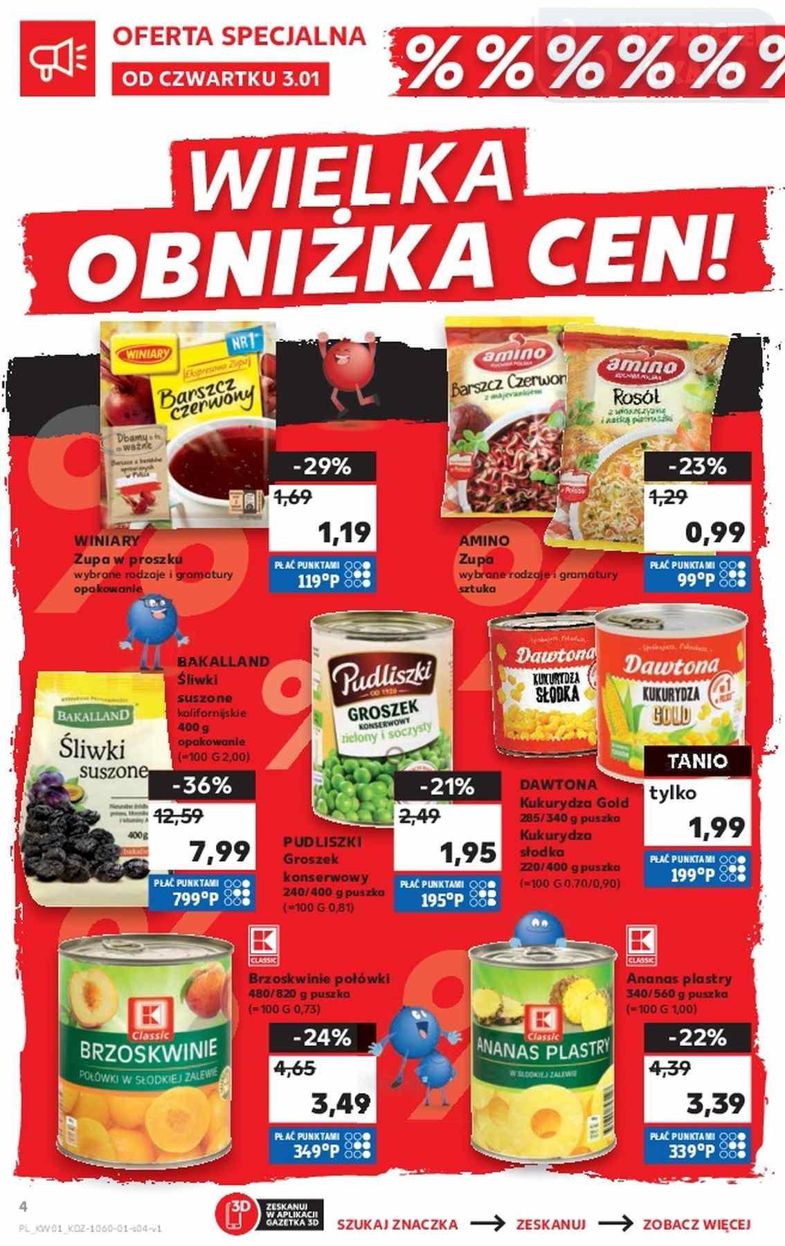 Gazetka promocyjna Kaufland do 09/01/2019 str.3