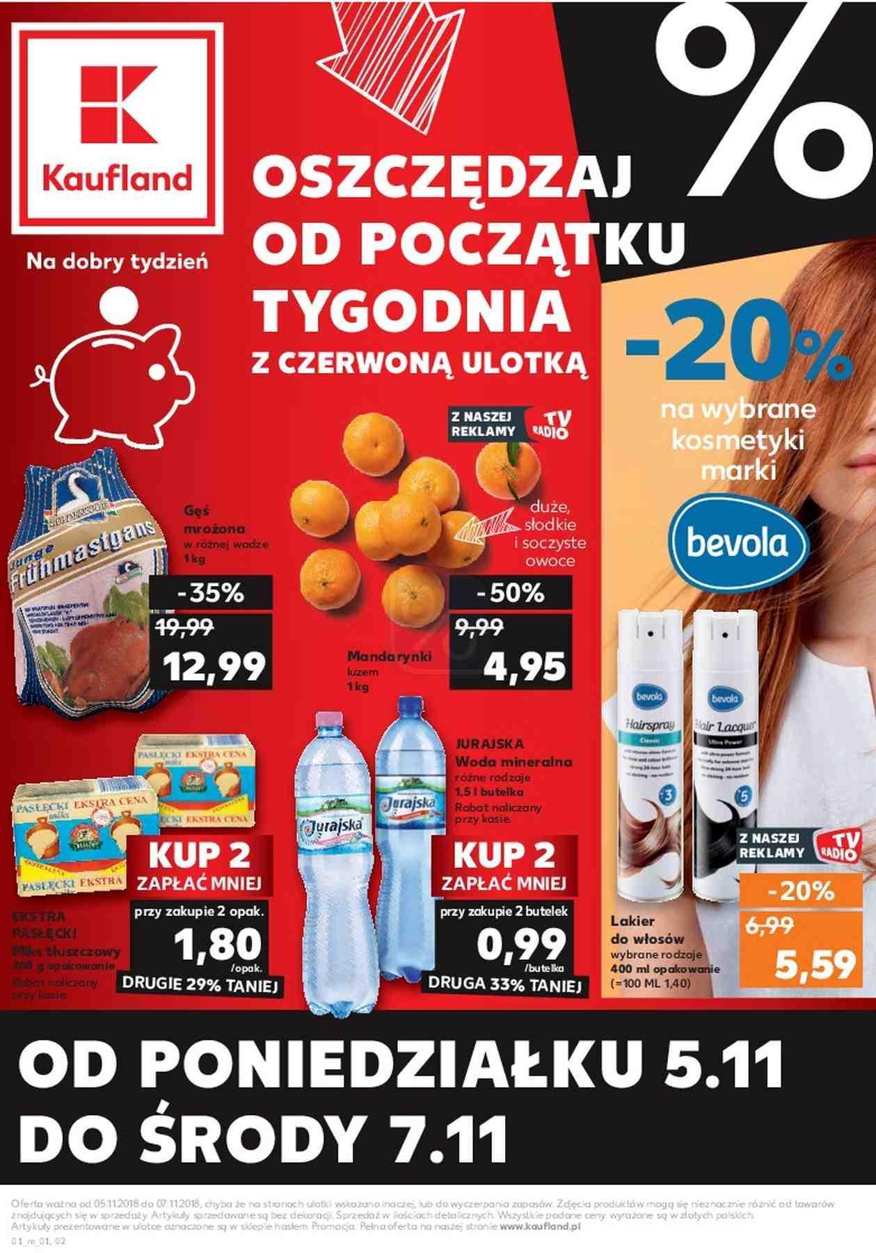 Gazetka promocyjna Kaufland do 07/11/2018 str.0