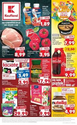 Kaufland gazetka - od 29/07/2021 do 04/08/2021