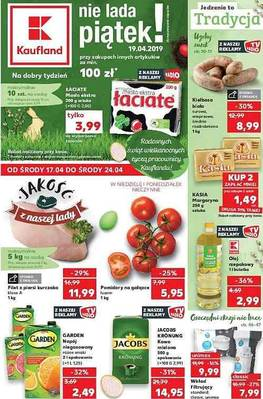 Kaufland gazetka - od 17/04/2019 do 24/04/2019