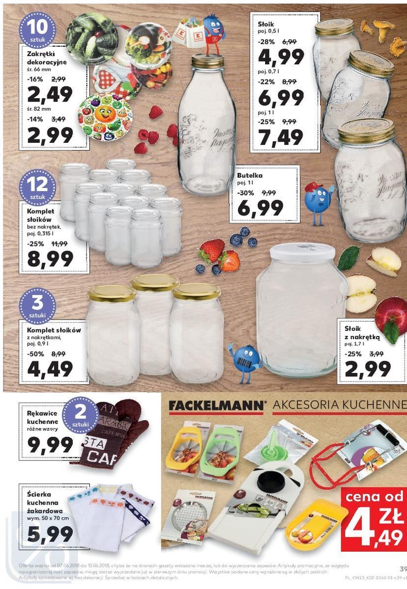 Gazetka promocyjna Kaufland do 13/06/2018 str.39