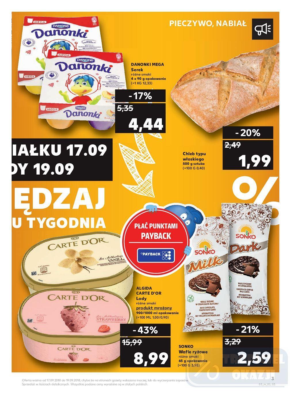 Gazetka promocyjna Kaufland do 19/09/2018 str.3