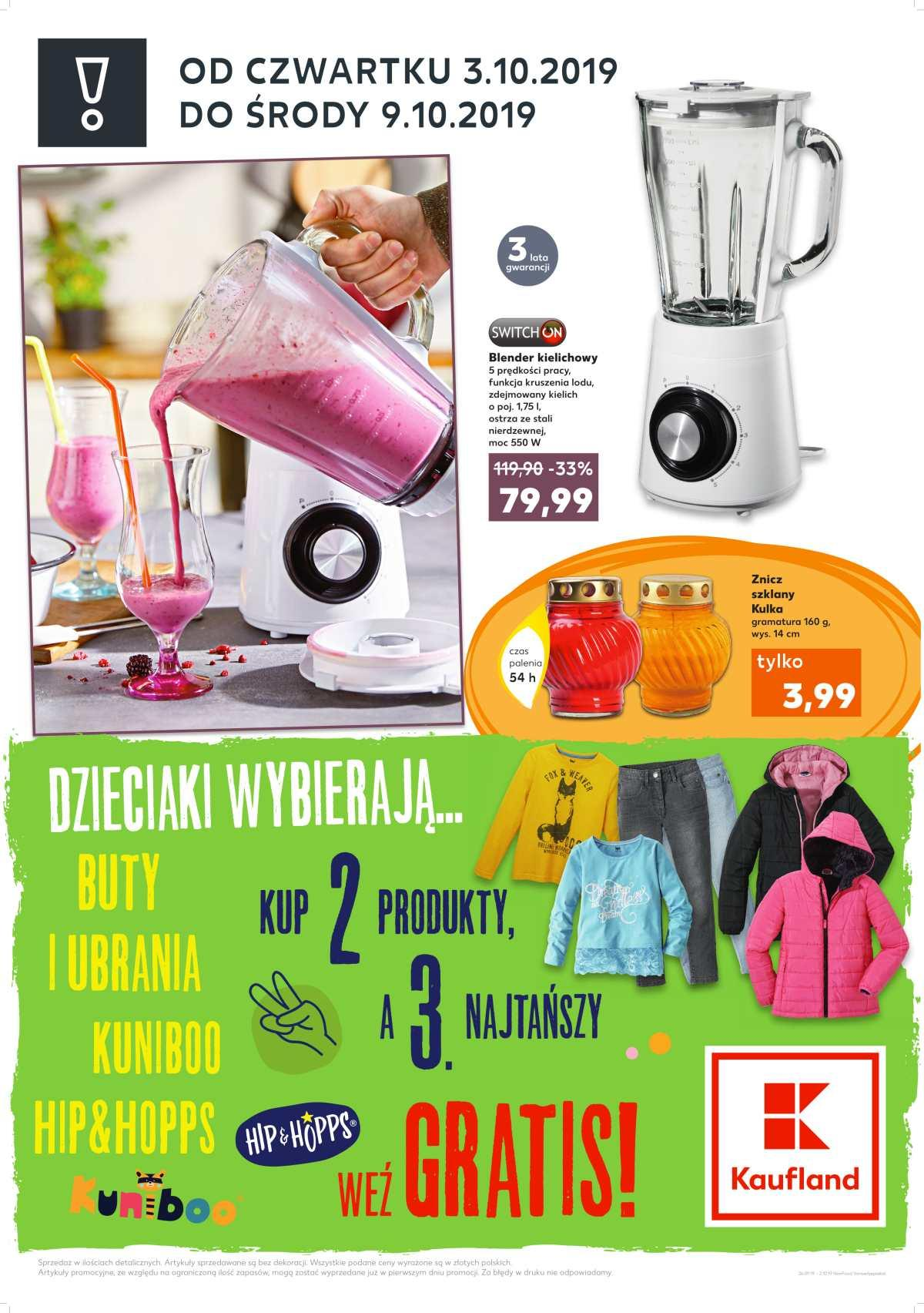 Gazetka promocyjna Kaufland do 09/10/2019 str.1