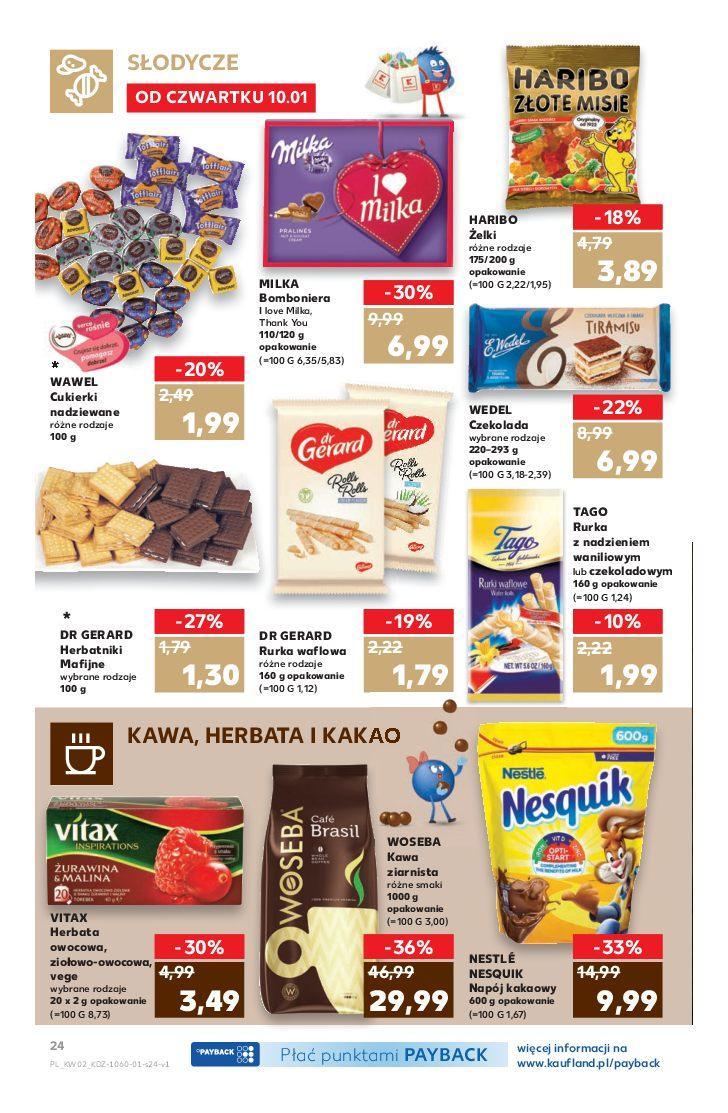 Gazetka promocyjna Kaufland do 16/01/2019 str.24