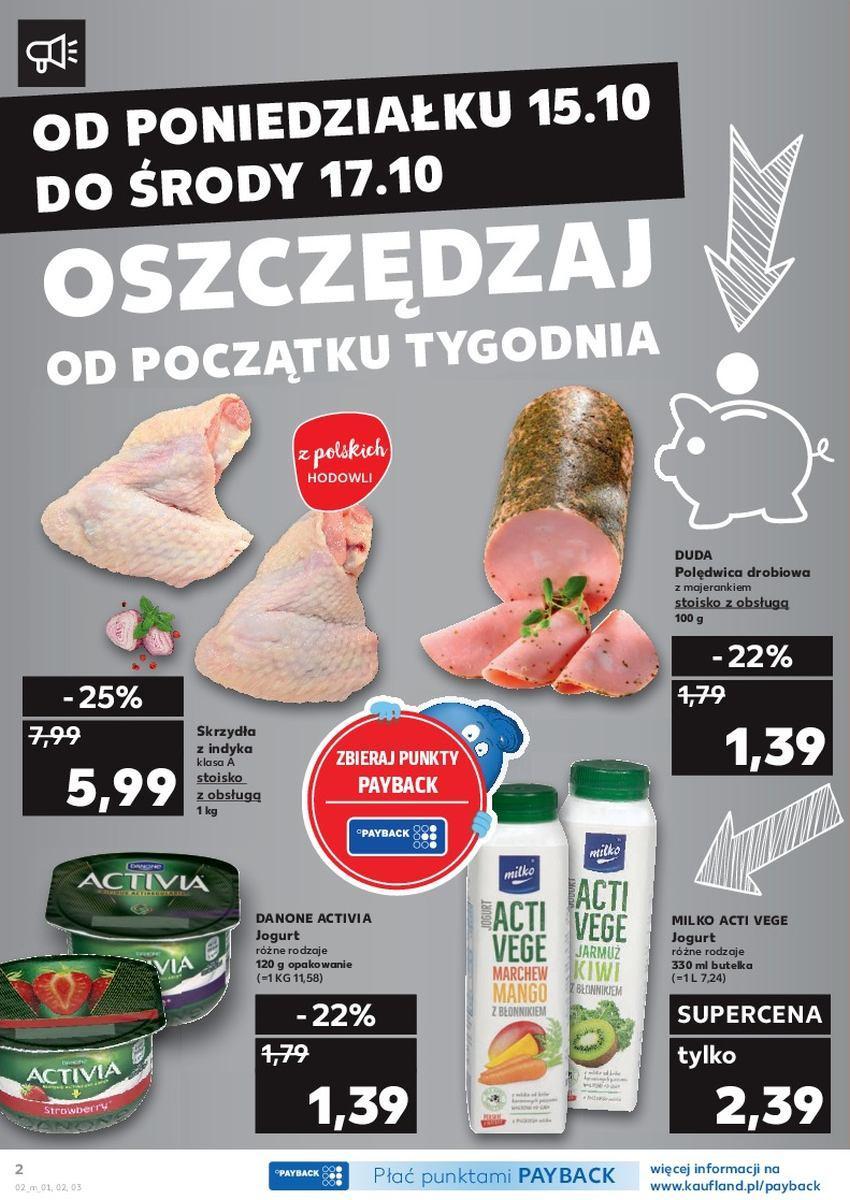 Gazetka promocyjna Kaufland do 17/10/2018 str.2