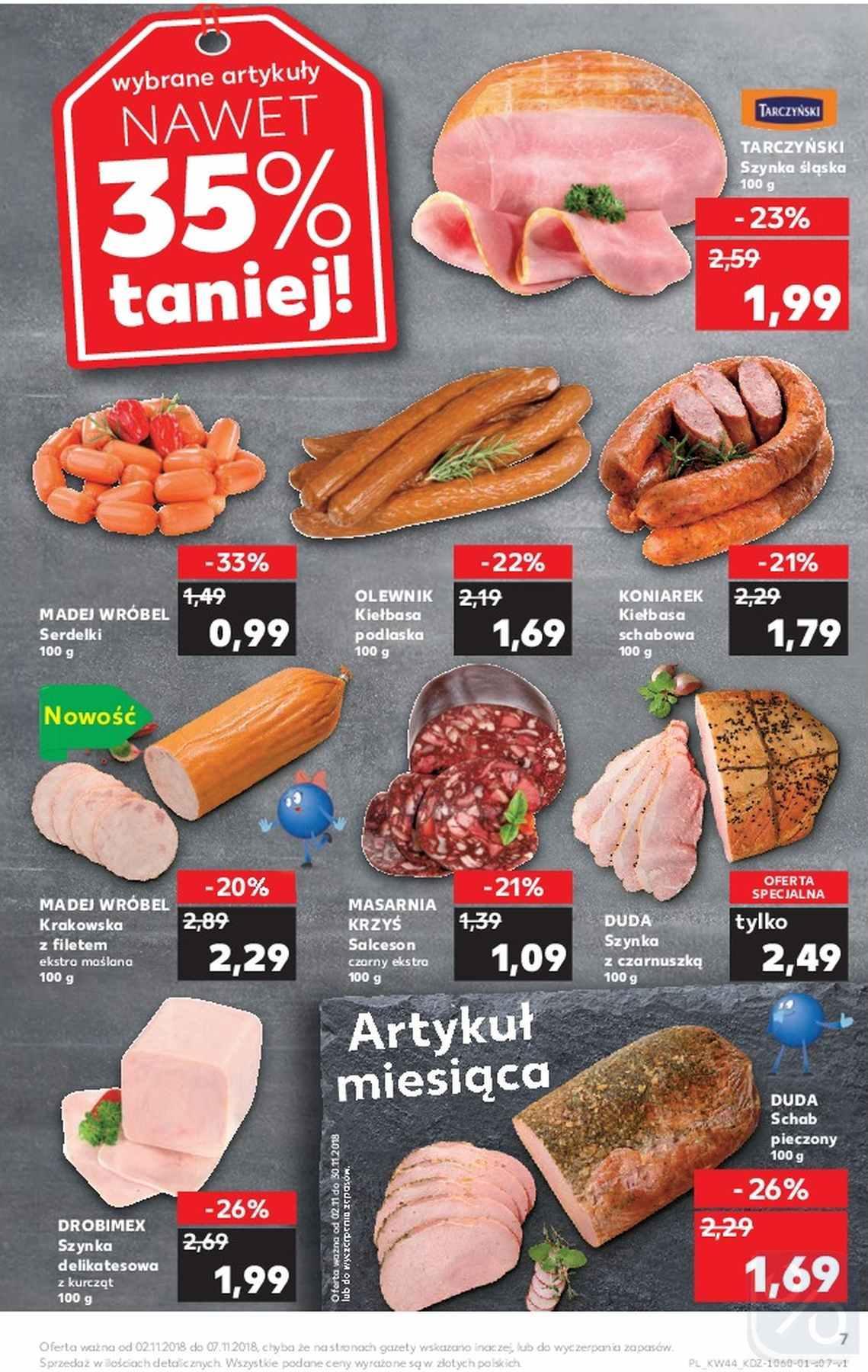 Gazetka promocyjna Kaufland do 07/11/2018 str.7