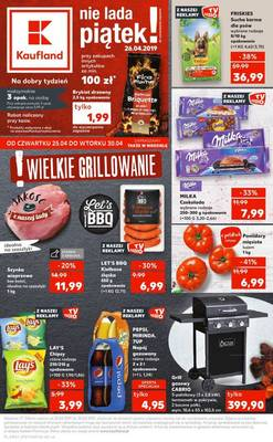 Kaufland gazetka - od 25/04/2019 do 30/04/2019