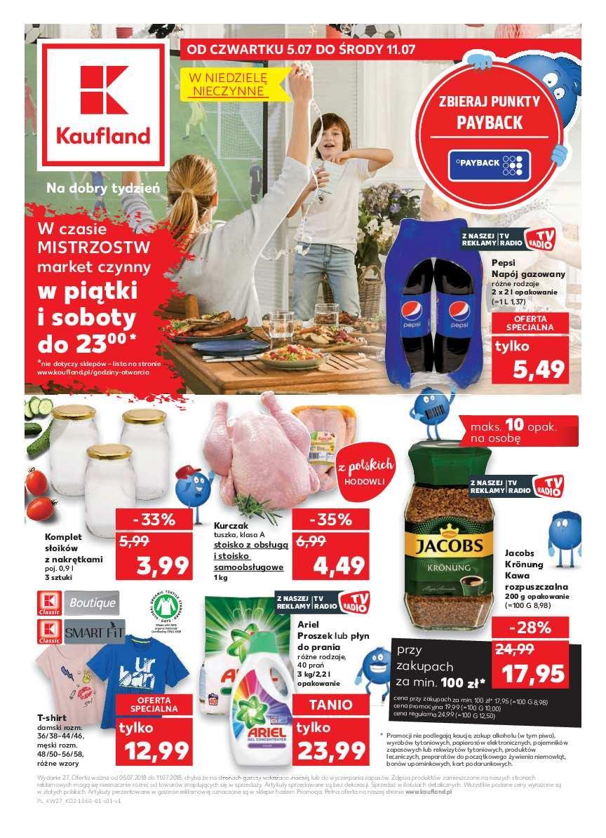 Gazetka promocyjna Kaufland do 11/07/2018 str.0