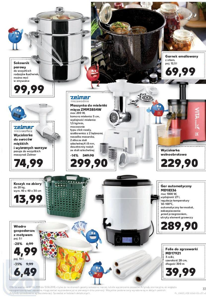 Gazetka promocyjna Kaufland do 13/06/2018 str.37