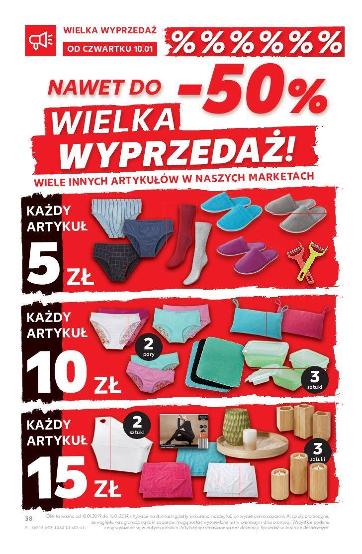 Gazetka promocyjna Kaufland do 16/01/2019 str.38