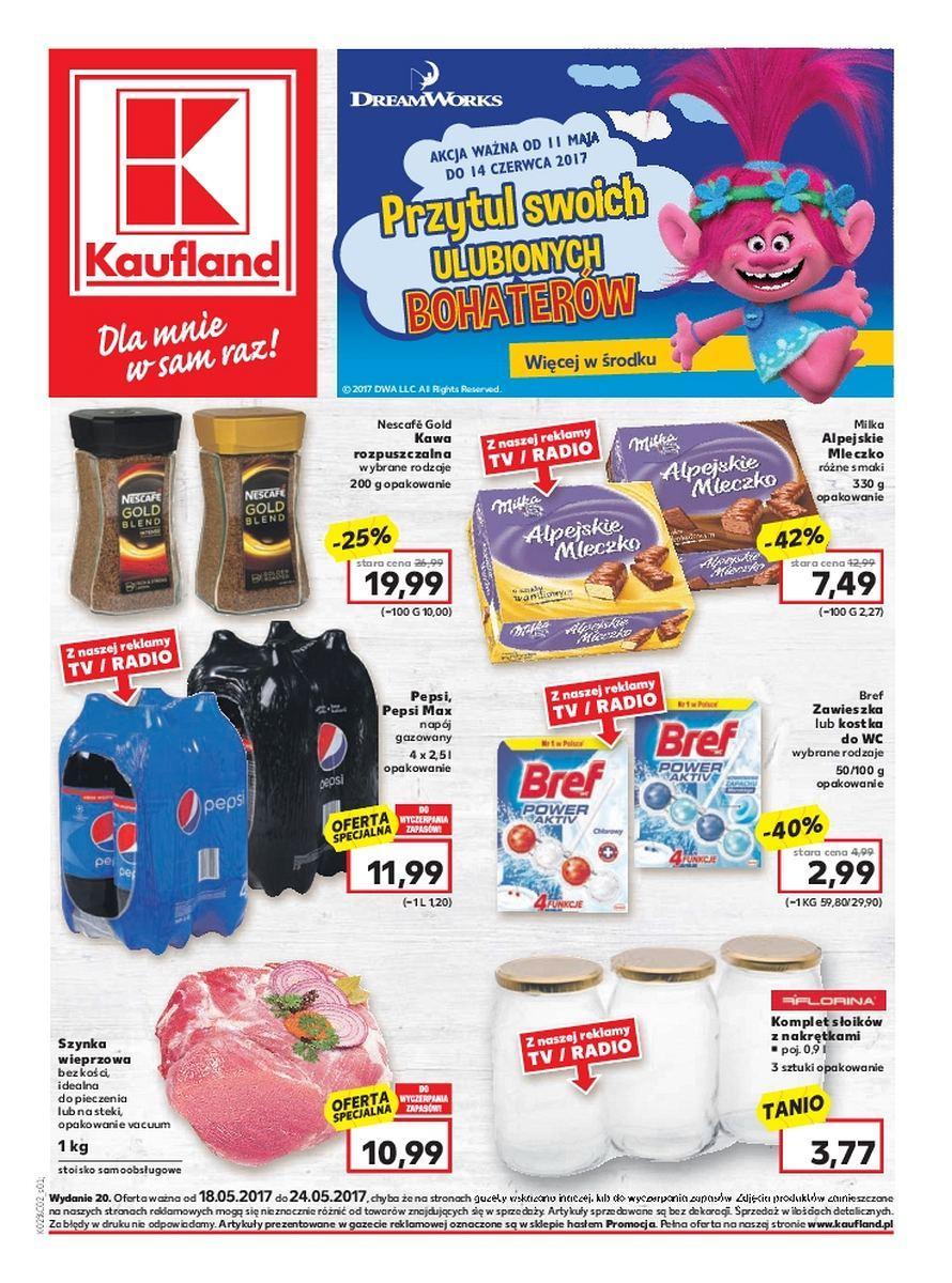 Gazetka promocyjna Kaufland do 24/05/2017 str.0