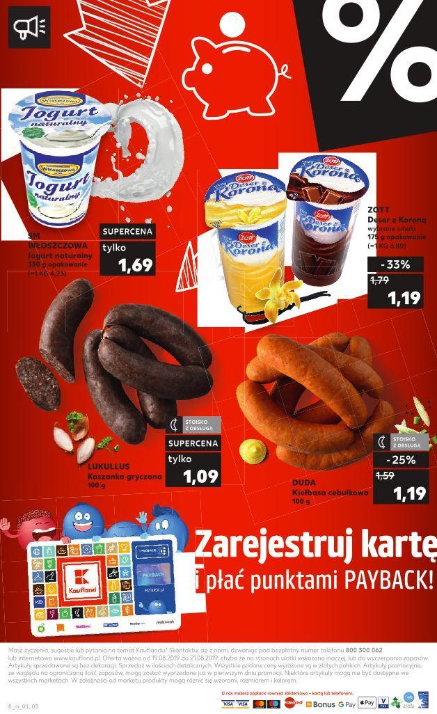 Gazetka promocyjna Kaufland do 21/08/2019 str.7