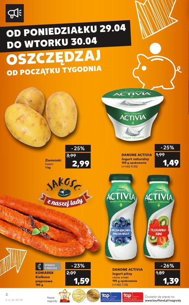 Gazetka promocyjna Kaufland do 30/04/2019 str.1