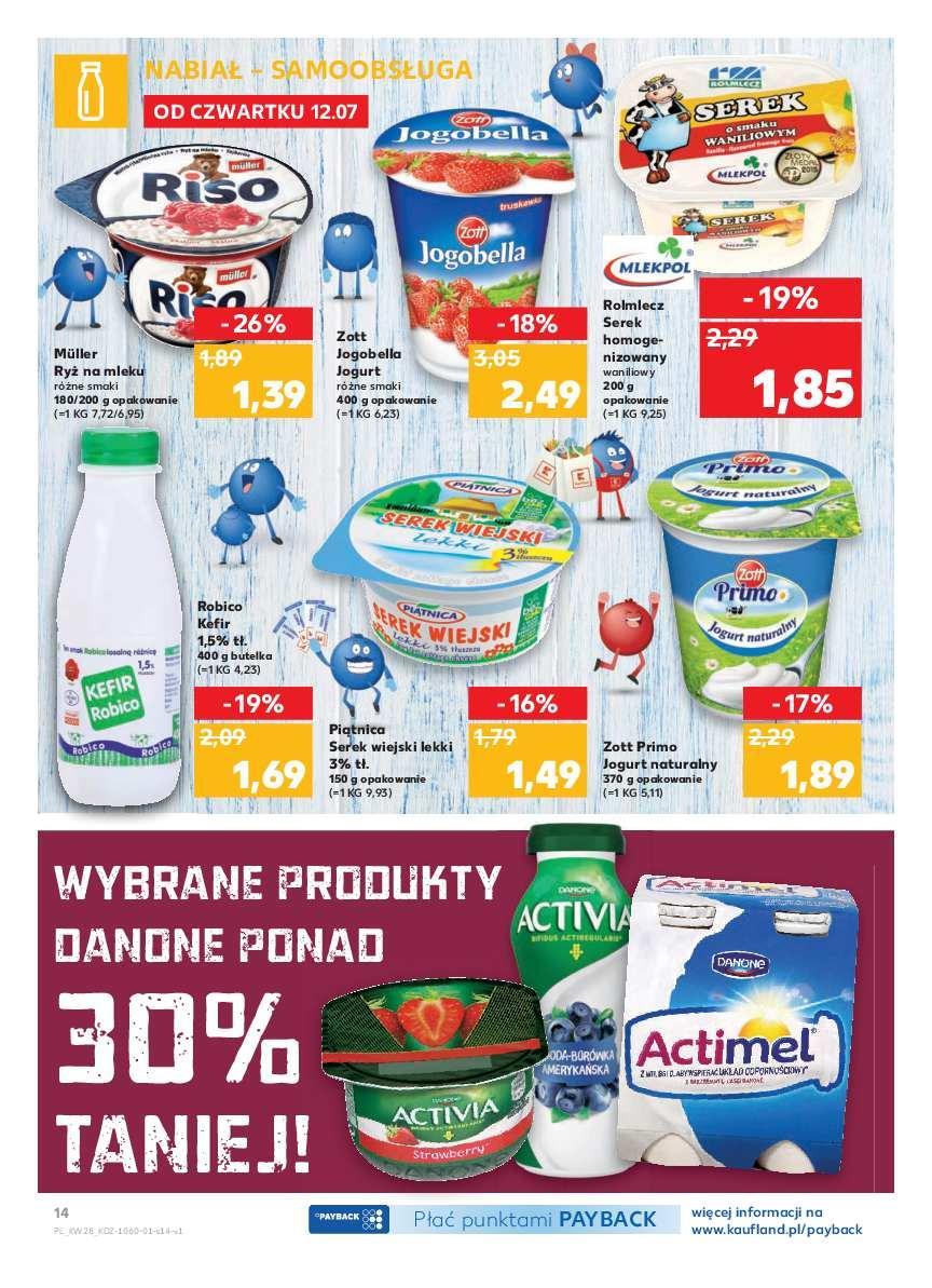Gazetka promocyjna Kaufland do 18/07/2018 str.14