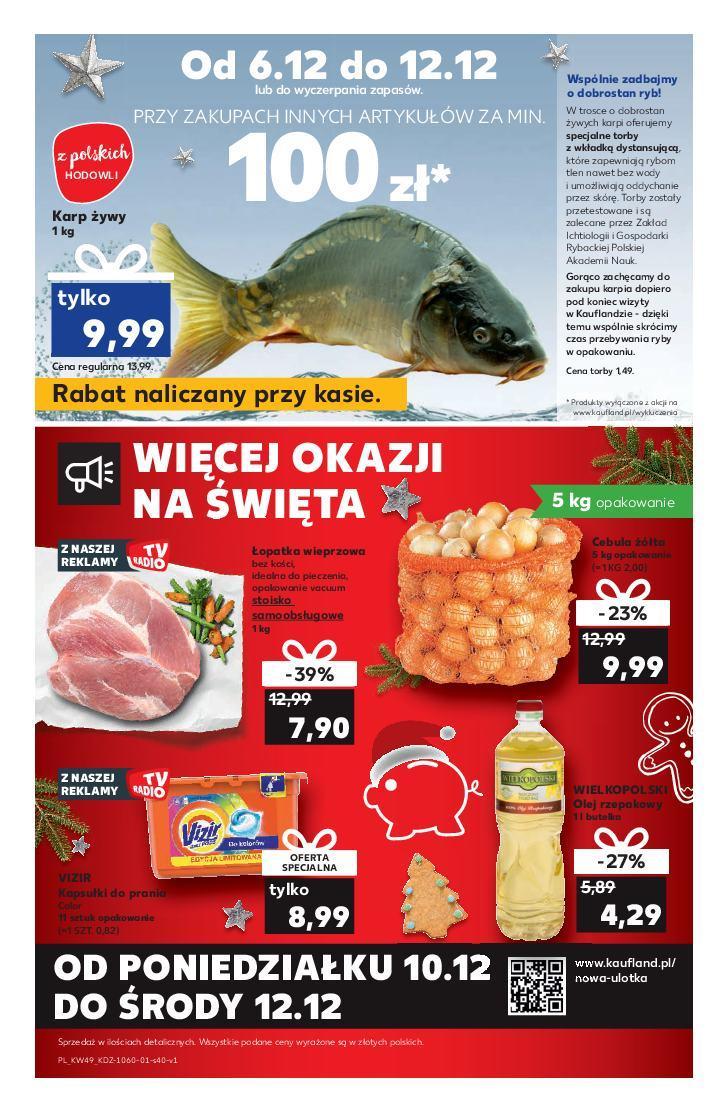 Gazetka promocyjna Kaufland do 12/12/2018 str.40