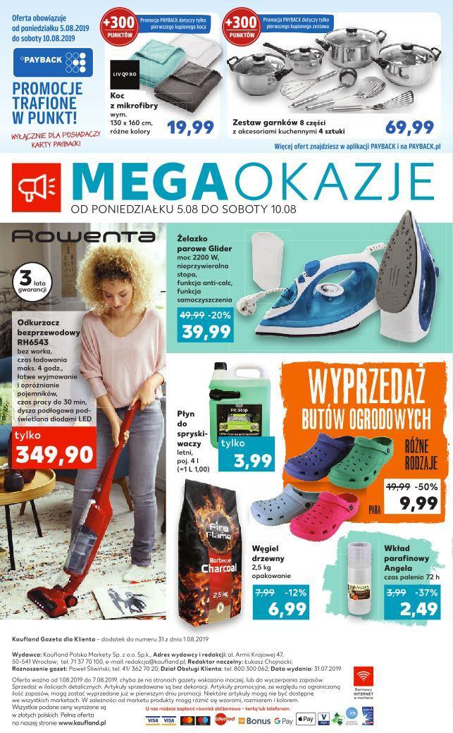 Gazetka promocyjna Kaufland do 07/08/2019 str.7
