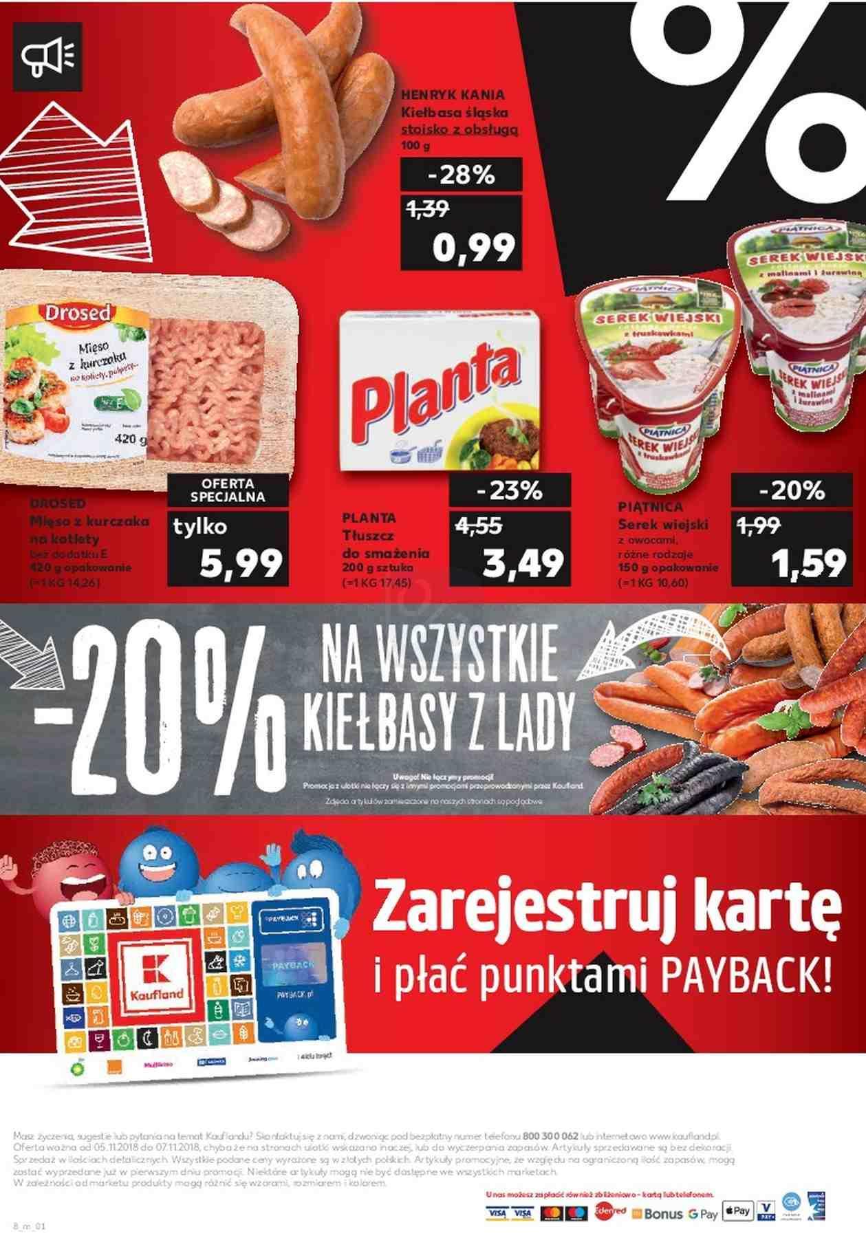 Gazetka promocyjna Kaufland do 07/11/2018 str.8