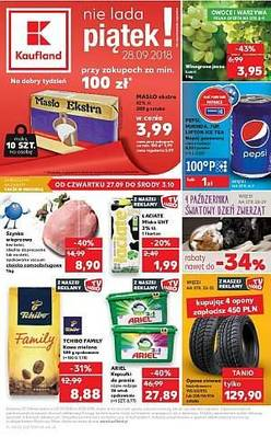Kaufland gazetka  - od 27/09/2018 do 03/10/2018