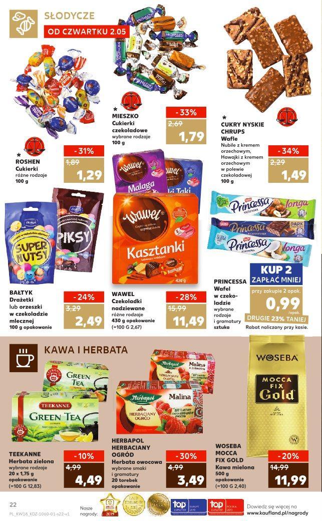 Gazetka promocyjna Kaufland do 08/05/2019 str.21