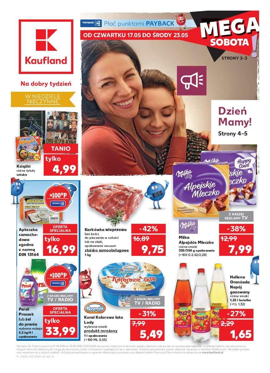 Gazetka promocyjna Kaufland do 23/05/2018 str.1