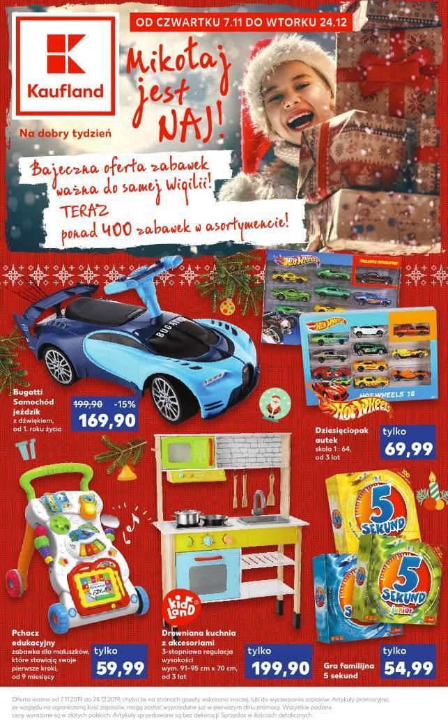 Gazetka promocyjna Kaufland do 24/12/2019 str.1