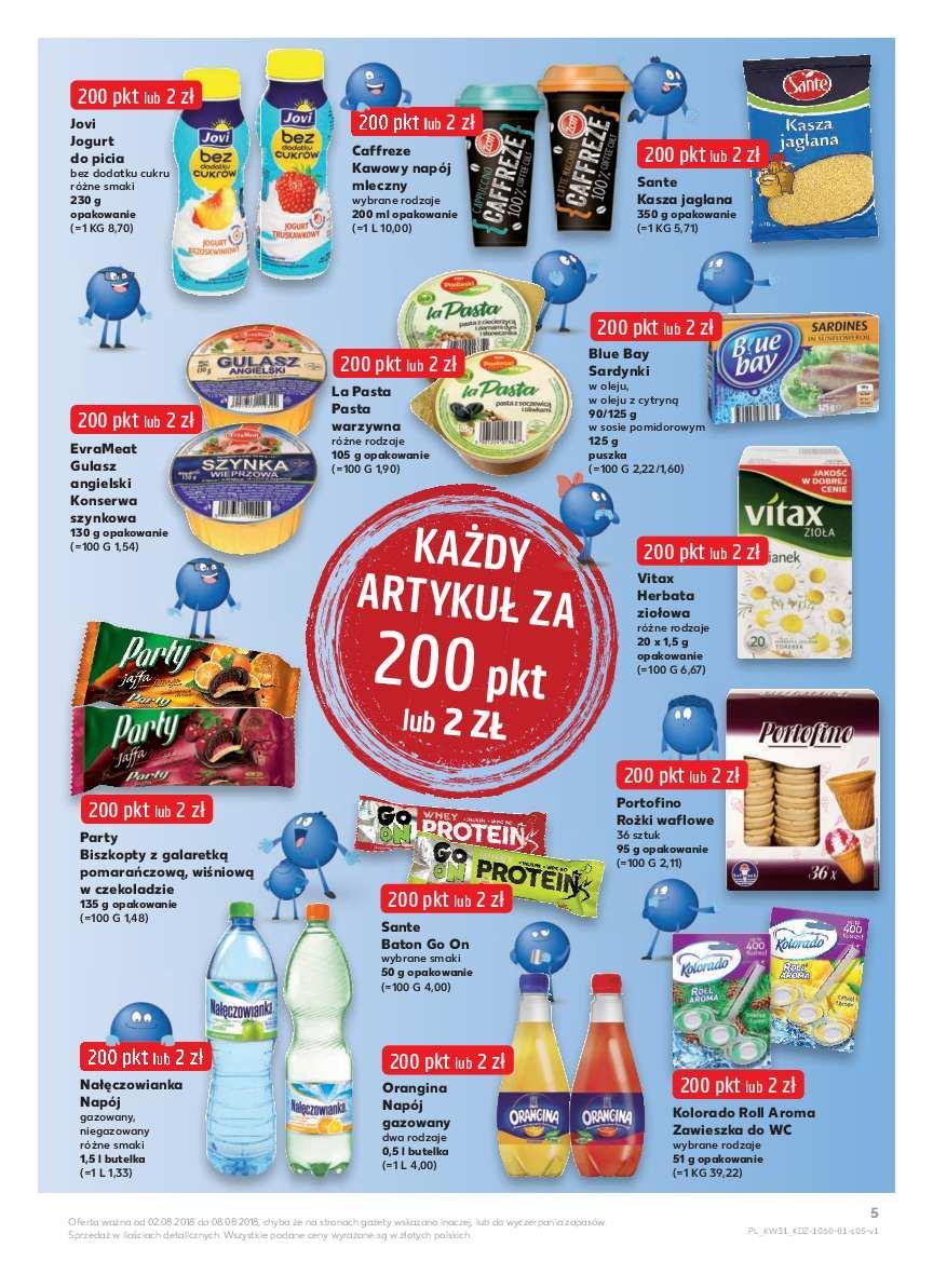 Gazetka promocyjna Kaufland do 08/08/2018 str.4