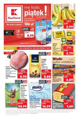 Kaufland gazetka - od 10/01/2019 do 16/01/2019