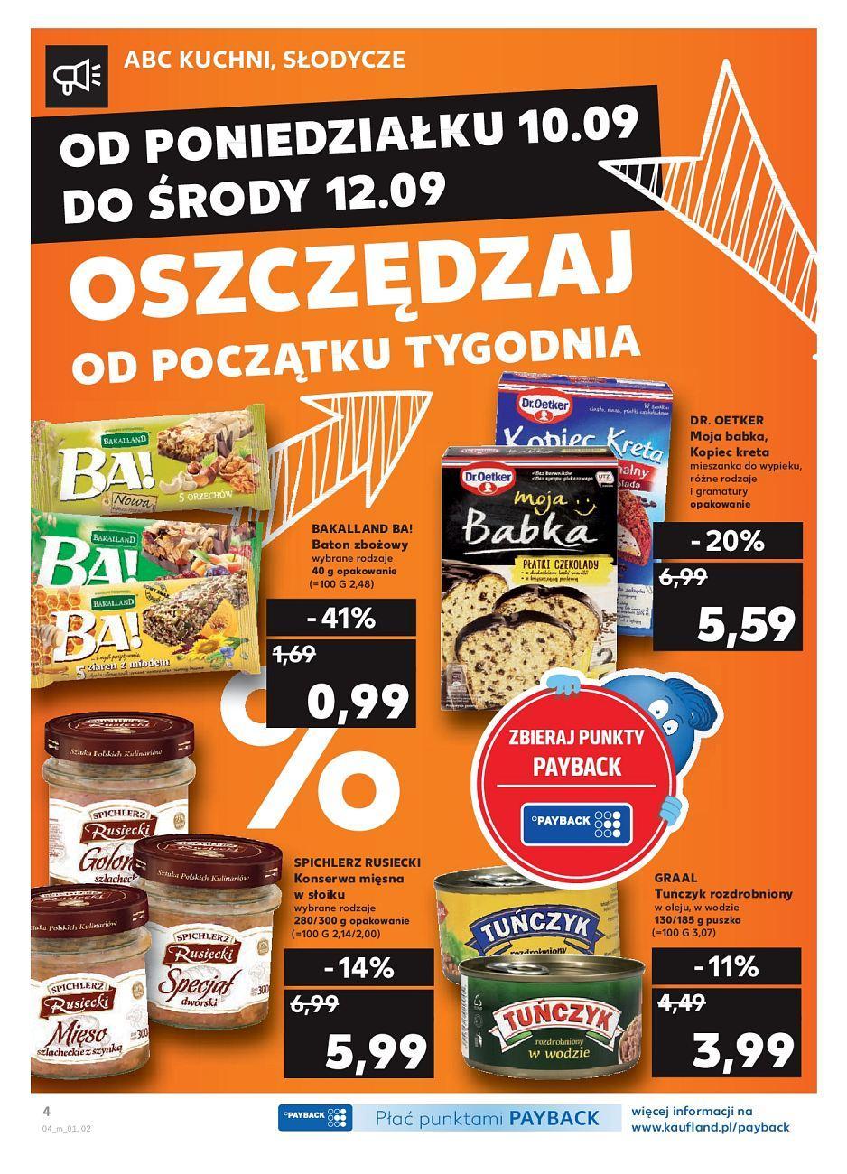 Gazetka promocyjna Kaufland do 12/09/2018 str.3