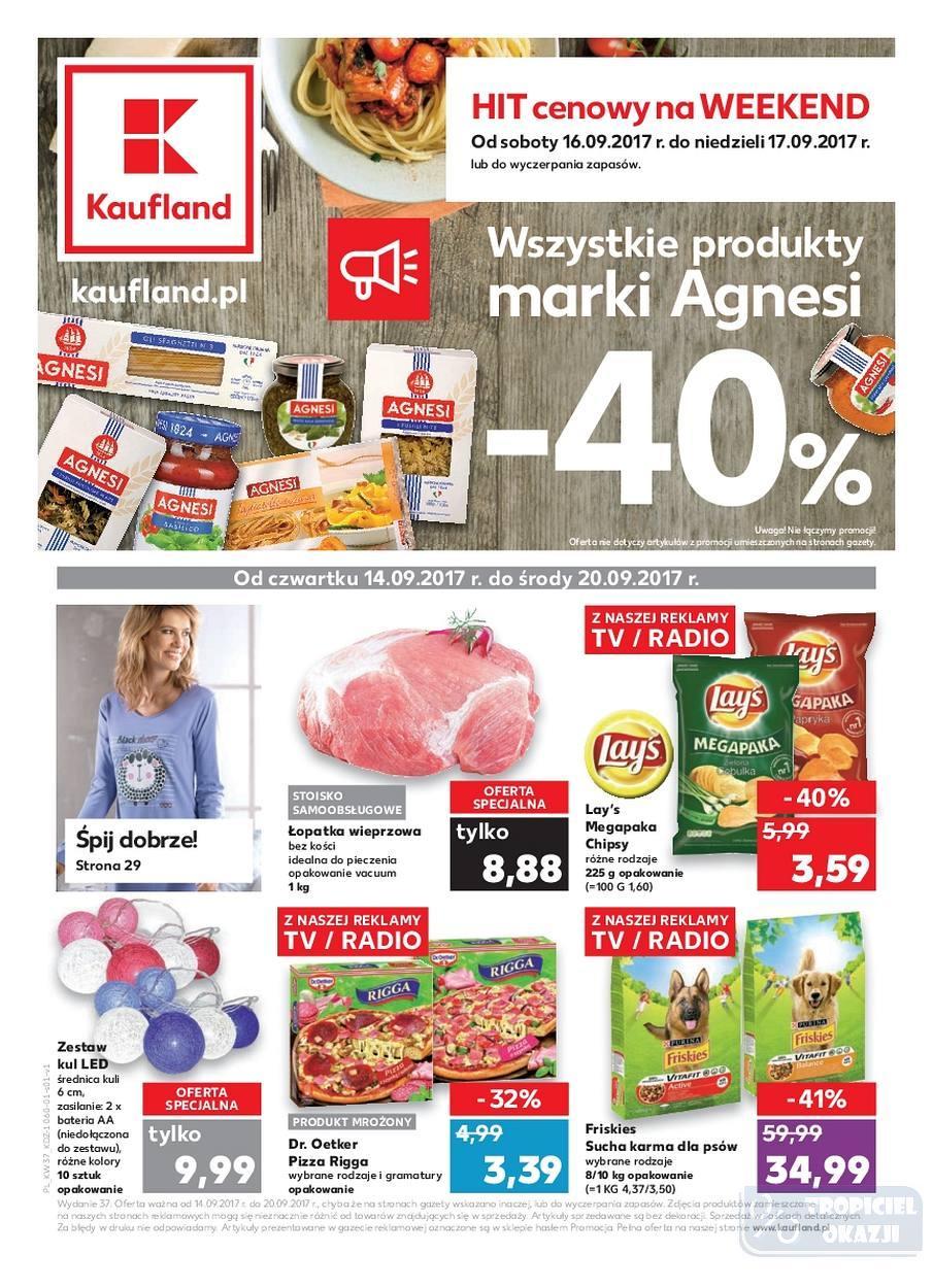Gazetka Promocyjna I Reklamowa Kaufland Kaufland Od 1409 Od 14