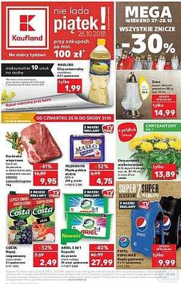 Kaufland gazetka - od 25/10/2018 do 31/10/2018