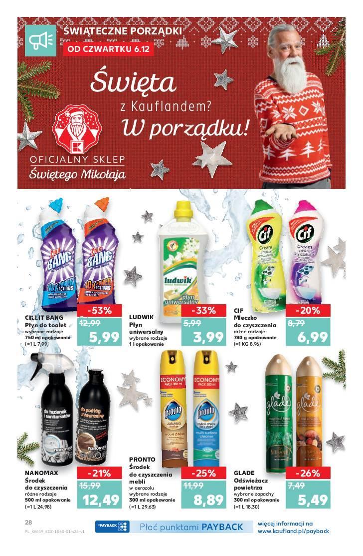 Gazetka promocyjna Kaufland do 12/12/2018 str.28