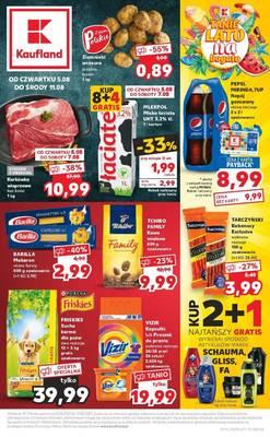 Kaufland gazetka - od 05/08/2021 do 11/08/2021