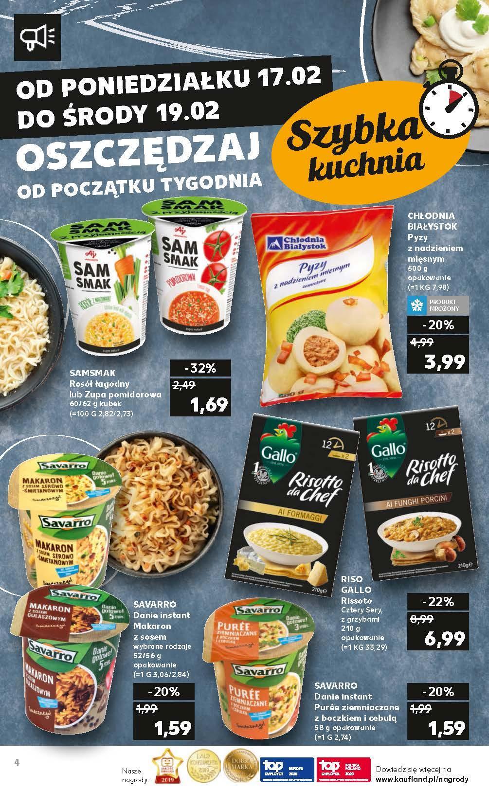 Gazetka promocyjna Kaufland do 19/02/2020 str.4