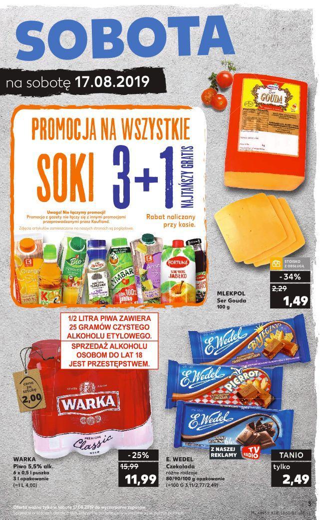 Gazetka promocyjna Kaufland do 21/08/2019 str.3