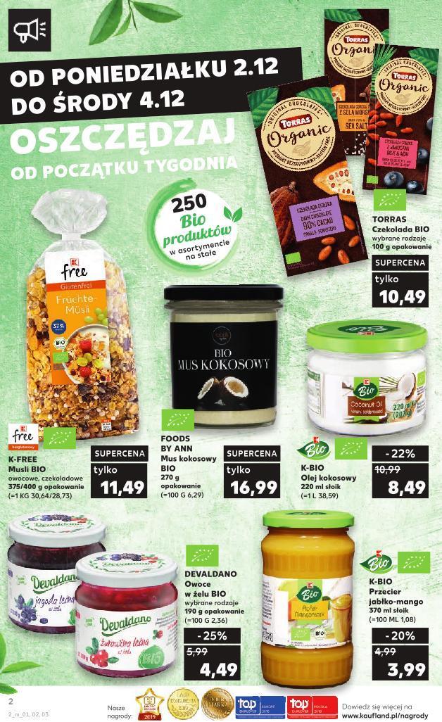Gazetka promocyjna Kaufland do 04/12/2019 str.2