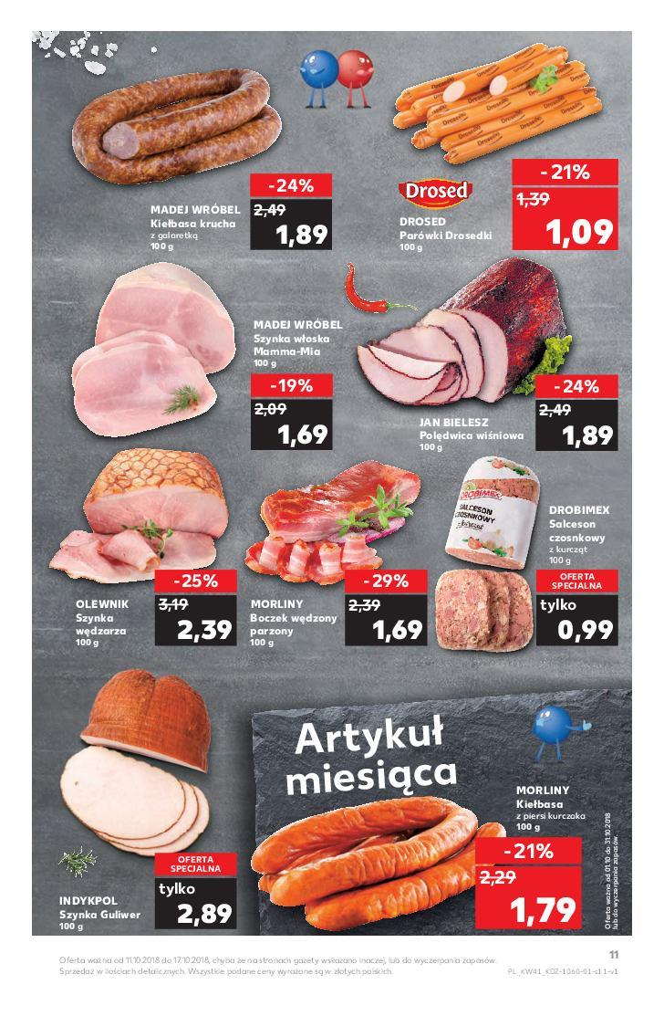Gazetka promocyjna Kaufland do 17/10/2018 str.11