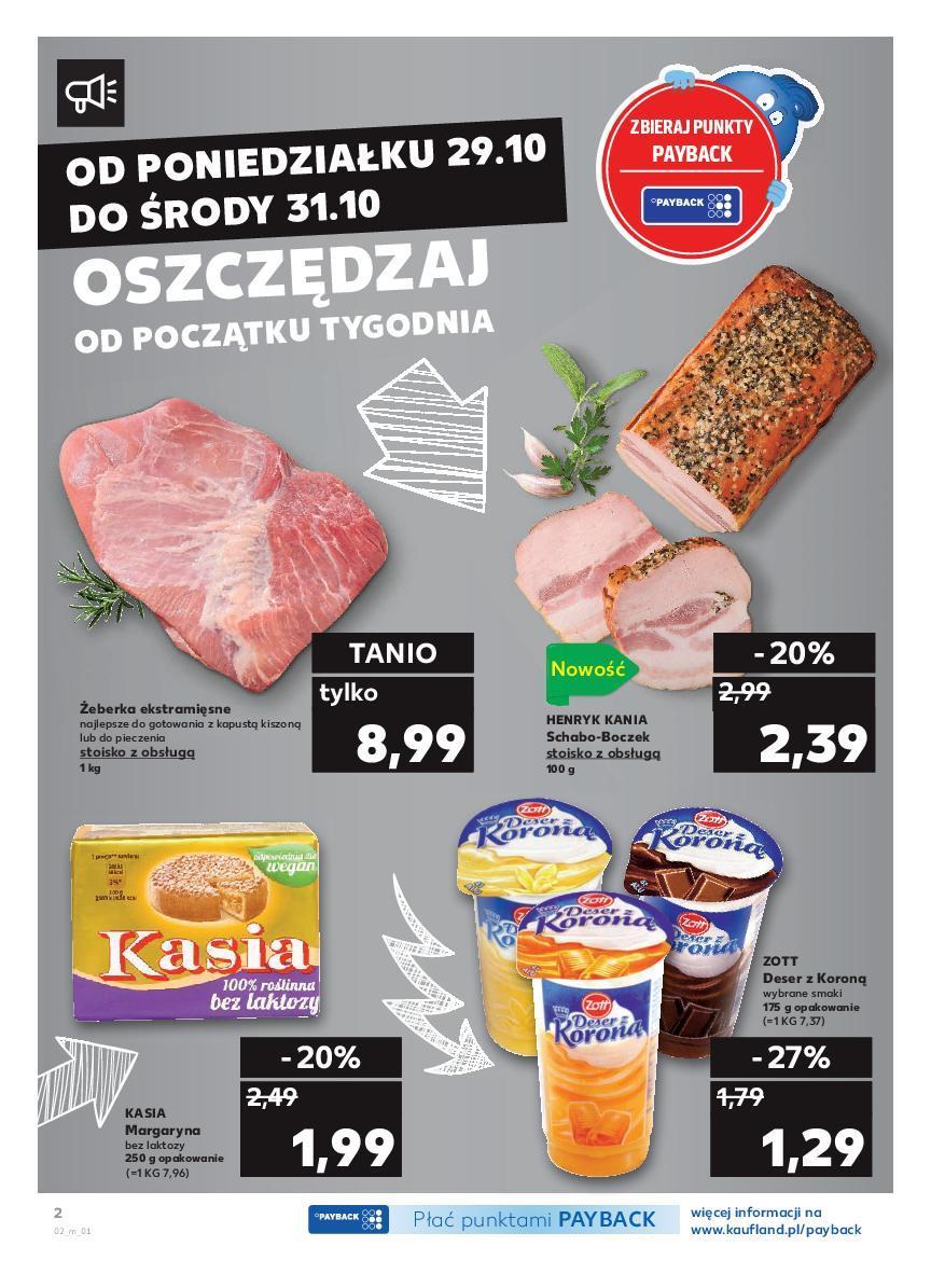 Gazetka promocyjna Kaufland do 31/10/2018 str.1
