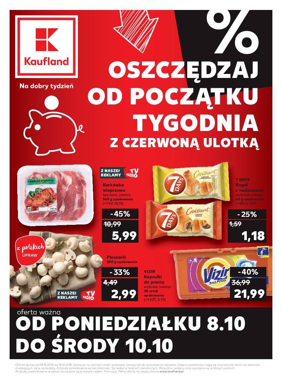 Gazetka promocyjna Kaufland do 10/10/2018 str.0