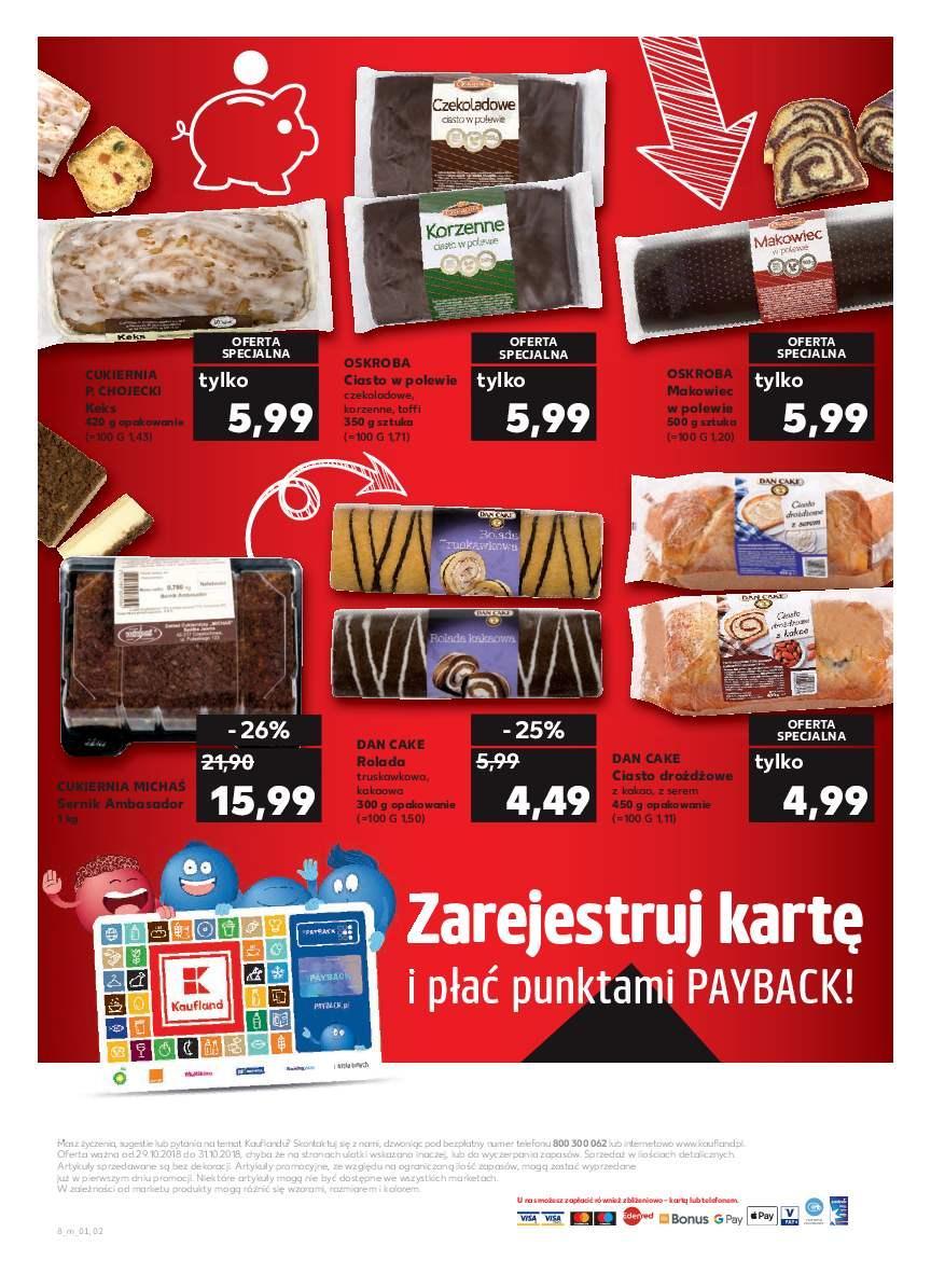Gazetka promocyjna Kaufland do 31/10/2018 str.7