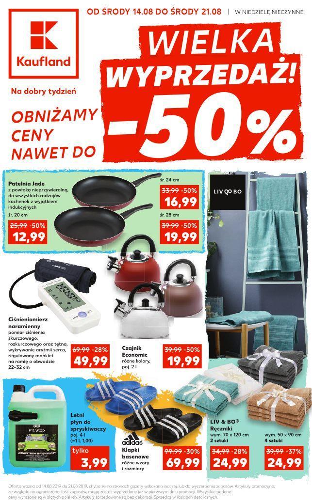 Gazetka promocyjna Kaufland do 21/08/2019 str.1