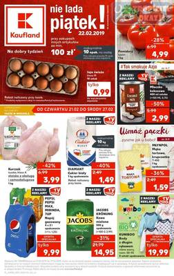 Kaufland gazetka  - od 21/02/2019 do 27/02/2019