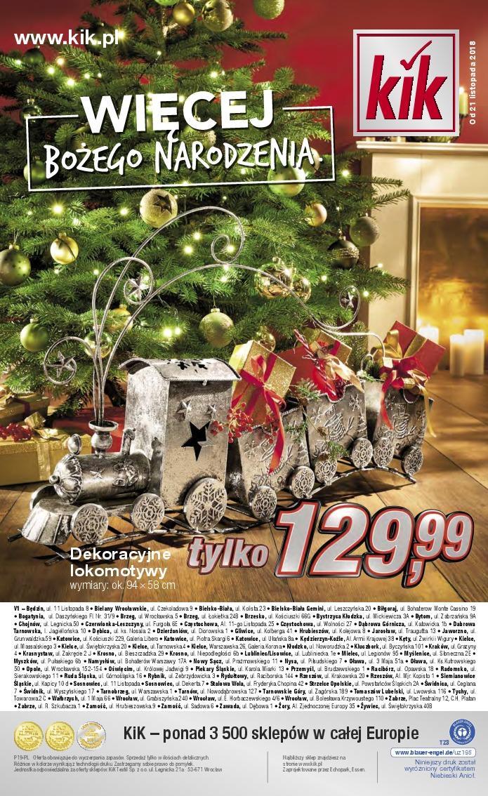 Gazetka promocyjna KiK do 24/12/2018 str.15