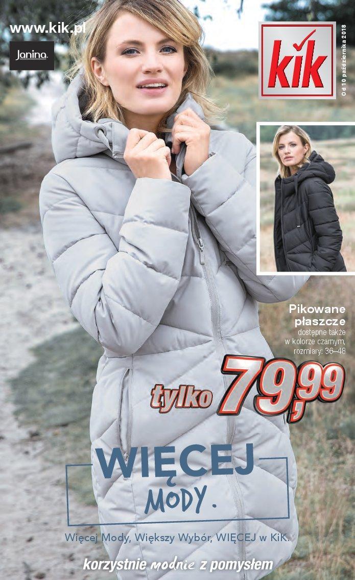 Gazetka promocyjna KiK do 13/11/2018 str.1