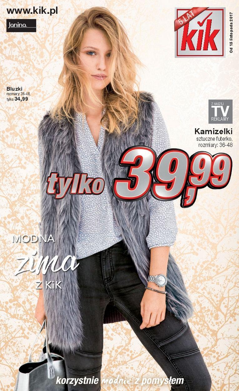 Gazetka promocyjna KiK do 19/11/2017 str.0