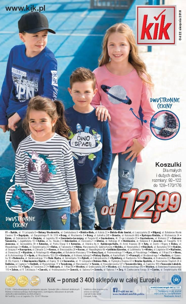 Gazetka promocyjna KiK do 31/10/2018 str.15