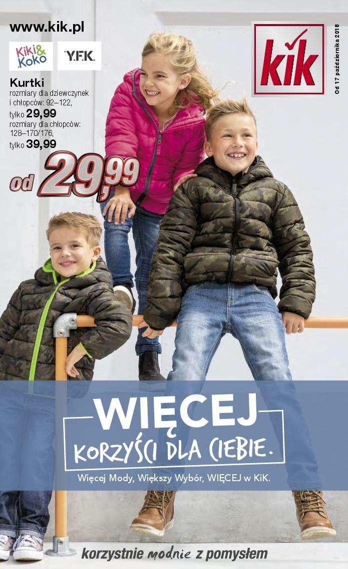Gazetka promocyjna KiK do 14/11/2018 str.1