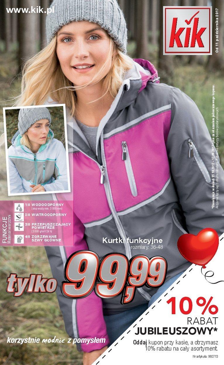 Gazetka promocyjna KiK do 12/11/2017 str.0